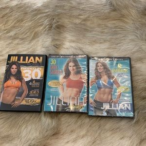Jillian Michaels DVD Workout Set (3)